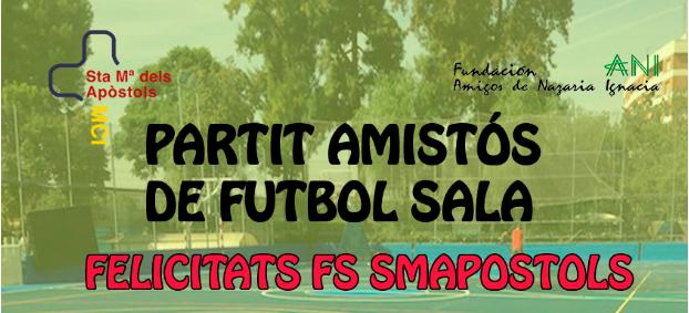 Resultado del partido FS SMAPOSTOLS-JoBesòs