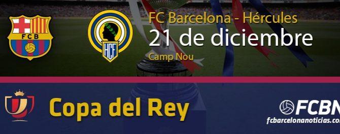 Copa del Rey FC-Barcelona – Hércules
